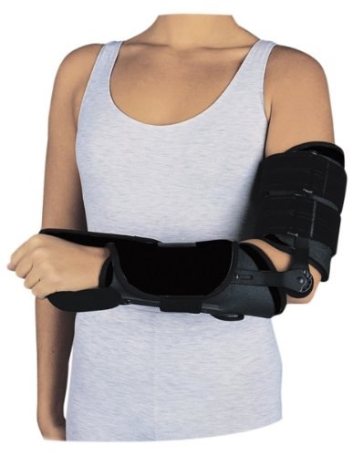 Procare Tennis Elbow - ElbowRANGER Motion Control Splint / ROM Elbow Deluxe, Large