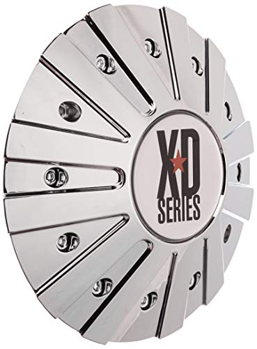 (KMC XD Series 778 Monster Chrome Wheel Rim Center Cap 846L215 LG0810-27)