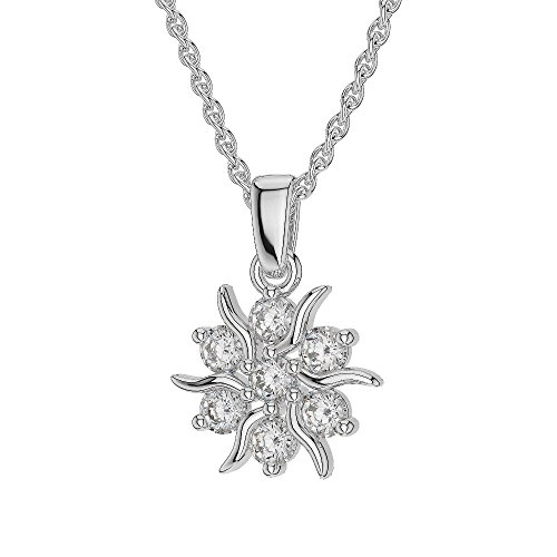 Or blanc/or/Rose/Jaune/Or/Platine Diamant Collier grappe agdnc-1015-vsgh
