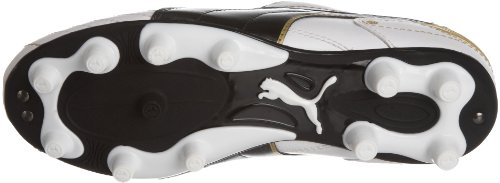 Puma Unisex-Adult Esito Finale I Fg Jr Indoor Trainer White-black-team Gold outlet deals really P2N8Gp