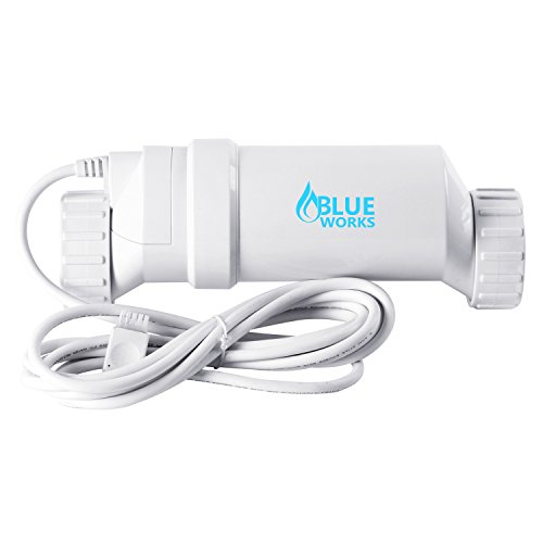Blueworks BLT9 Cell | T-Cell-9 Compatible with Hayward Goldline AquaRite Systems | Cell Plates Made by USA Company | 5 Year Limited Warranty (White) (Blue Turbo)