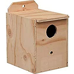 Prevue Pet Products BPV1102 Wood Inside Mount Nest Box for Birds Lovebird New