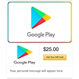 Amazon Com Google Play 50 Gift Card For Android Gift Cards