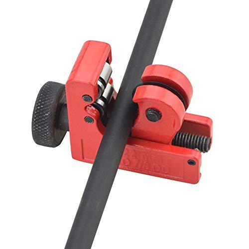MILAEM Mini Tube Pipe Slice Tubing Cutting Tool Arrow Shaft Cutter 3mm-22mm Diameter Arrow Cutter - Slice Tube Pipe