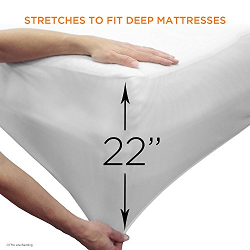 Mattress Protector From Urine ... - Premium Waterproof Mattress Protector - Vinyl Free Mattress Cover