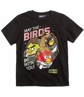 Camiseta Ni/ño Unisex Videojuego Angry Birds