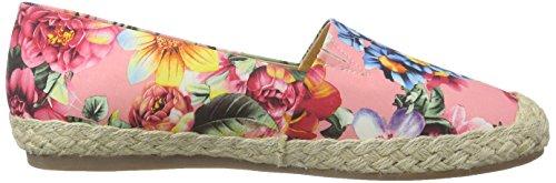 Espadrilles Femme Rose Flower pink Pink The Shoe Bear awYqXBSnxI