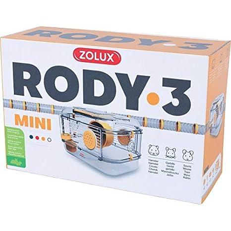 Zolux Jaula RODY.3 Mini Amarillo: Amazon.es: Productos para mascotas