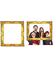G4GADGET Large Inflatable Blow Up Selfie Photo Frame 60cm x 80cm - Photo Booth Novelty Fun Hen Party