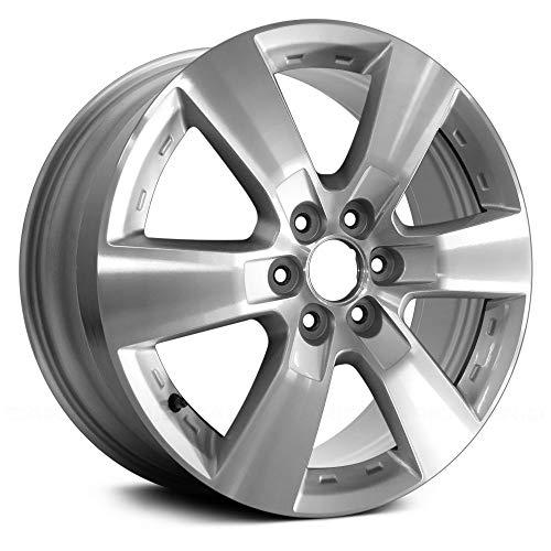 (Value 6 Spokes Machined and Silver Factory Alloy Wheel OE Quality Replacement)