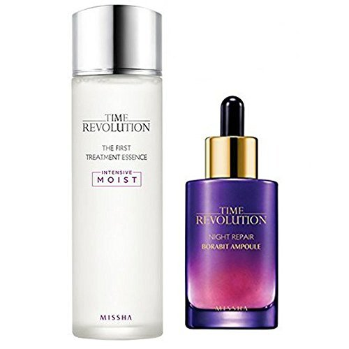 Missha Time Revolution the First Treatment Essence 150ml + Night Repair Serum 1.7oz