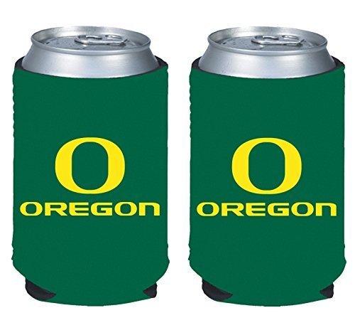 - NCAA College 2014 Team Logo Color Can Kaddy Holder Cooler 2-Pack (Oregon Ducks)