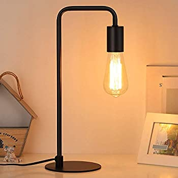 Edison Lamp Industrial Table Lamp Wood Desk Lamp For