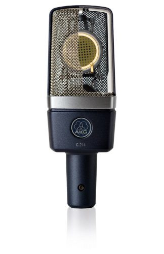 AKG & Zoom Studio Recording Pack with AKG C214 Condenser