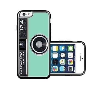 RCGrafix Brand Mint Instamatic Camera Vintage iPhone 6 Case - Fits NEW Apple iPhone 6