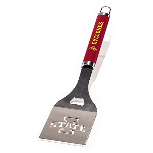 NCAA Iowa State Cyclones Die-Cut Stainless Steel Spatula with Color Handle ()