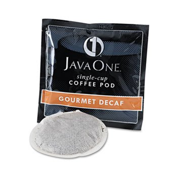 (Java Trading Co. Coffee Pods, Colombian Decaf, Single Cup, Pods, 14/Box)