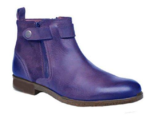 33 in da Blu Stivali in Pelle 46 Modello Progettazione Scarpe Tristan di HGilliane 1zv4qx