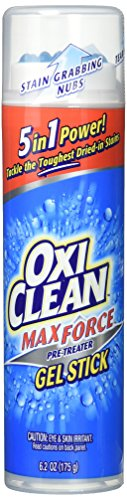 OxiClean Max Force Gel Stick, 6.2 Oz (Pack of 2)