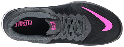 Zapatillas dark Mujer Pink Run Nike Running Black wht Grey de 3 FS Lite Negro Blast 4U7xHnZ