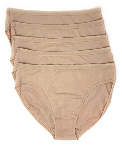 Victoria's Secret High-Leg Brief Panty Set of 5 Nude/Nude / Nude/Nude / Nude Large - Nude High Cut Brief