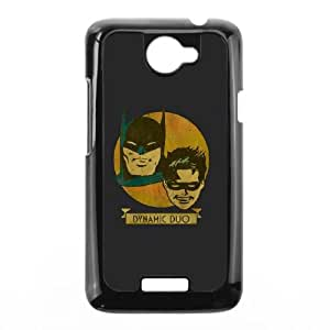 HTC One X Cell Phone Case Black Batman and Robin Dynamic Duo SU4363044