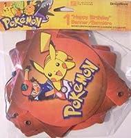 DesignWare Pokemon Happy Birthday Hinged Banner
