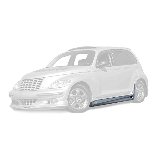 Bomb Side Skirts - KBD Body Kits Compatible with Chrysler PT Cruiser 2001-2005 Bomb Style 2 Piece Flexfit Polyurethane Side Skirts. Extremely Durable, Easy Installation, Guaranteed Fitment, Made in the USA!