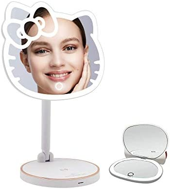 Impressions Hello Kitty Rechargeable Makeup Mirror Bundle