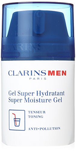 Clarins Super Moisture Gel for Men, 1.8 Ounce