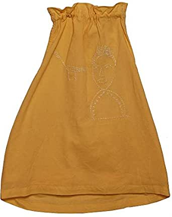 Chandamamakids Priyanka Dress for Girls (Yellow 2-4Y)