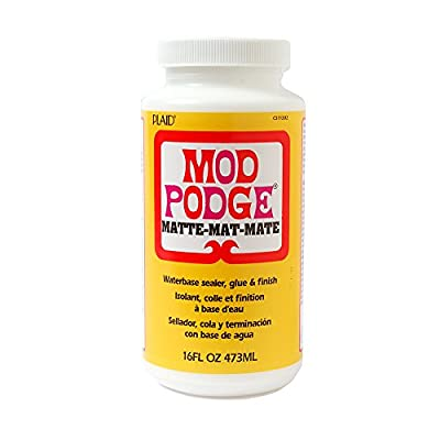 Mod Podge Waterbase Sealer, Glue and Finish, CS11302 Matte Finish