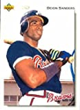 #10: 1992 Upper Deck #247 Deion Sanders - Atlanta Braves (Baseball Cards)