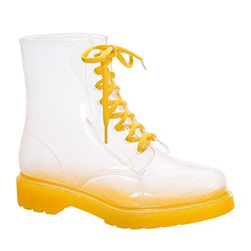 Bottes Sole Pluie pour Jelly Femme Jolly Yellow Martin Imperméable de Ezn1xpg1q