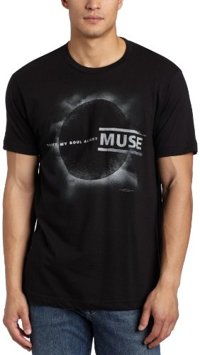 Muse Rock Band (Bravado Men's Muse Eclipse T-Shirt, Black, Large)