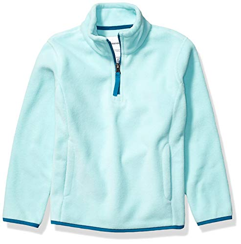 Amazon Essentials Girl's Quarter-Zip Polar Fleece Jacket