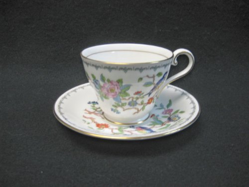 AYNSLEY CUP/SAUCER, 2 5/8