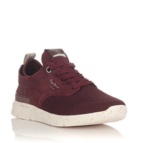 Rouge Tech Basses Sneakers 999 Black Pepe Homme Jeans Jayden zqwnH81
