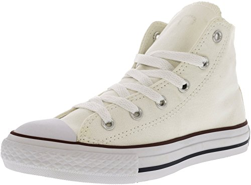 Converse Unisex-Kinder CTAS-Hi-Optical White-Youth Hohe Sneaker weiss (100)