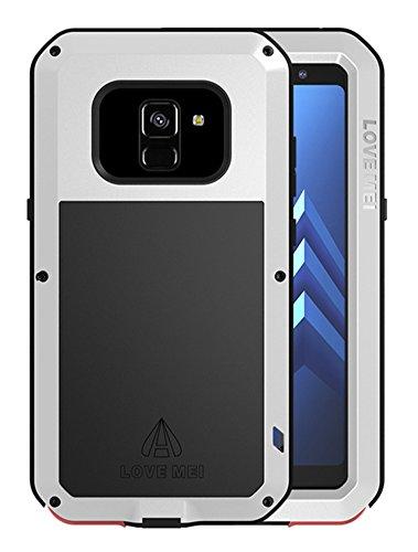 16094303d72 Love Mei Aluminum Metal Case Samsung Galaxy A8 (2018 Version) Waterproof  Shockproof Cover Built