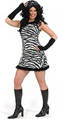 Gurimo - Disfraz de cebra para mujer: Amazon.es: Juguetes y juegos