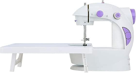 Pequeña máquina de coser portátil Mini máquina de bordar para el ...