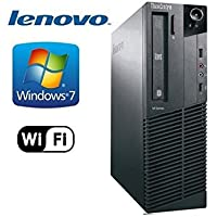 Lenovo ThinkCentre M92p Business Desktop Tower PC (Intel Core i5-3470, 3.2Ghz CPU, 8GB RAM, 120GB SSD, WIFI, DVD-RW, USB 3.0) Windows 7 Pro - 32 Bit (Certified Refurbished)