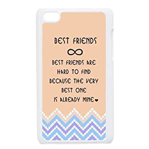 diy zhengiphone 5/5s Generation Back Protective Case - Best Friends Quotes with Aztec Tribal Style Case Perfect as Christmas gift(5)