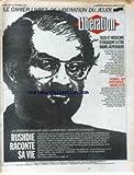 LIBERATION [No 3546] du 15/10/1992 - SALMAN RUSHDIE RACONTE SA VIE SECU ET MEDECINS S' ENGAGENT A ETRE MOINS DEPENSIERS PRIX NOBEL DE PHYSIQUE - GEORGES CHARPAK