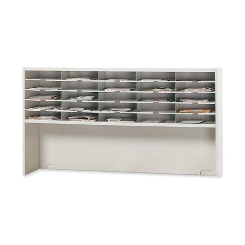 Mayline SR6033RPG Mailroom System, 1 Tier sorter w/Riser, 25 Pockets, 60w x 13-1/4d x 33-1/4h - Mayline Task Light