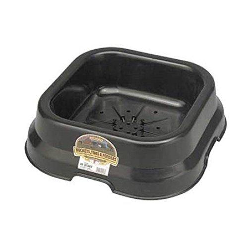 Miller - DuraFlex Salt and Mineral Block Holder - Black - For blocks up to 50 lb ()