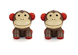 Skip Hop Set of 2 Zoo Bookends, Monkey