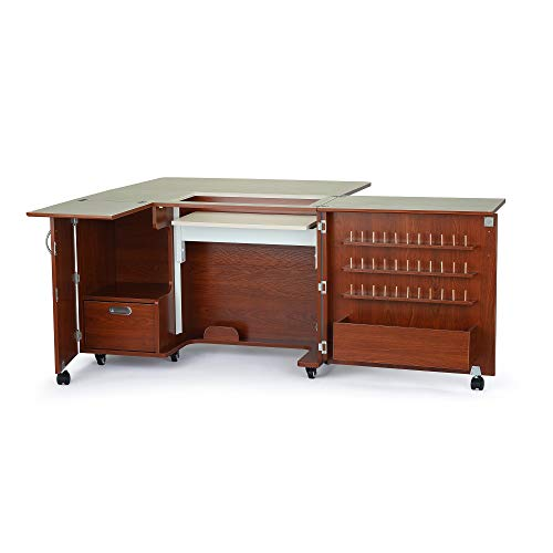 Kangaroo Kabinets Wallaby II Sewing Cabinet-Teak