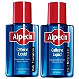 Alpecin After Shampoo Caffeine Liquid Hair Energizer 200 ml (2 Pack)